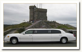 6 Passenger Limo at Cabot Tower
